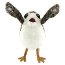 The Last Jedi Porg Plush Toys Peluche Doll on Board Figure Suction Cup Plush 22cm(China)