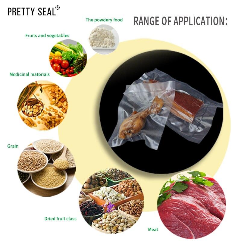 PRETTYSEAL Household Food Vacuum bags 15 5m 28 5m Vacuum Sealer Bags BPA Free FDA Approved Pouch Set utensilio de cozinha in Saran Wrap Plastic Bags from Home Garden