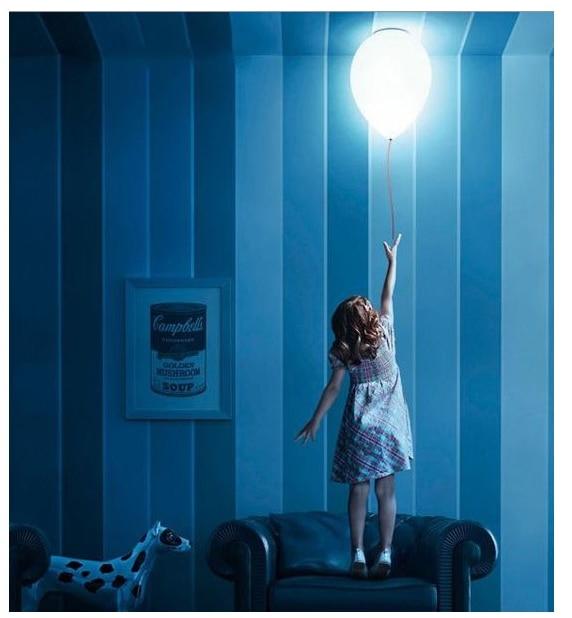 Ceiling Light Living Room Balloon Colorful Children Lights Bedroom Kids Led Gl Kindergarten Lamp Playground Lighting In Pendant From