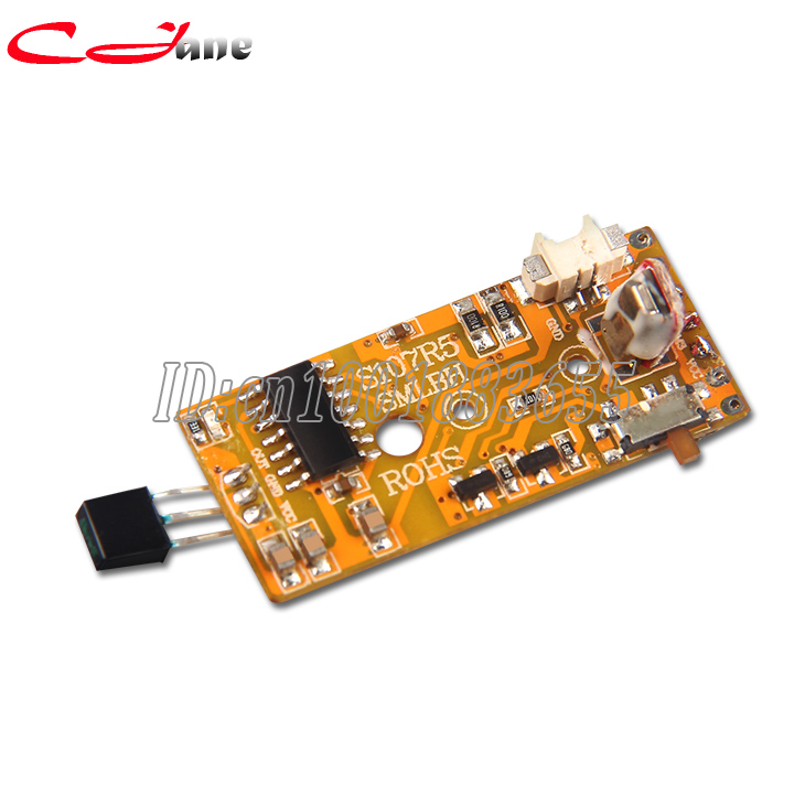 SYMA S107G - 18 receiving board PCB SYMA Mini RC Helicopter parts Circuit board S107 parts of RC planes big togo main circuit board motherboard pcb repair parts for nikon d610 slr