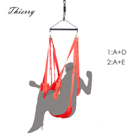 Thierry Luxury Sex Furniture thicker 2.7kg Sex Swing Chairs Hot Funny Hanging Pleasure Love Swing for Couples Adult Sex Products