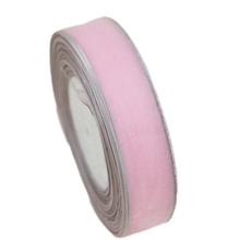 (50 yards/roll) 1 (25mm) Gold and Silver Edge organza ribbon wholesale gift wrapping decoration ribbons