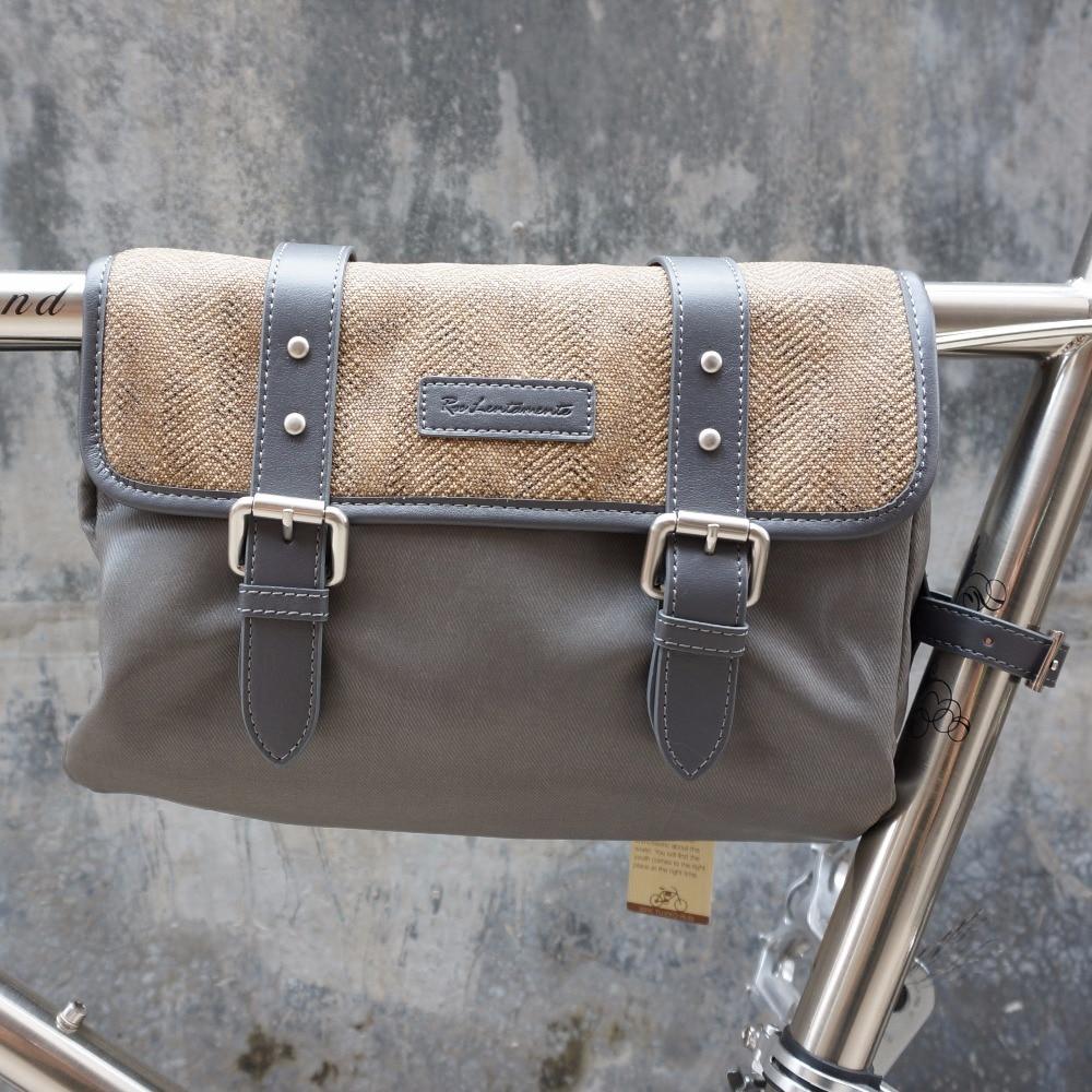 Vintage Fahrrad Rucksack Ros Lentamente Rack Tasche Fahrradkorb ...