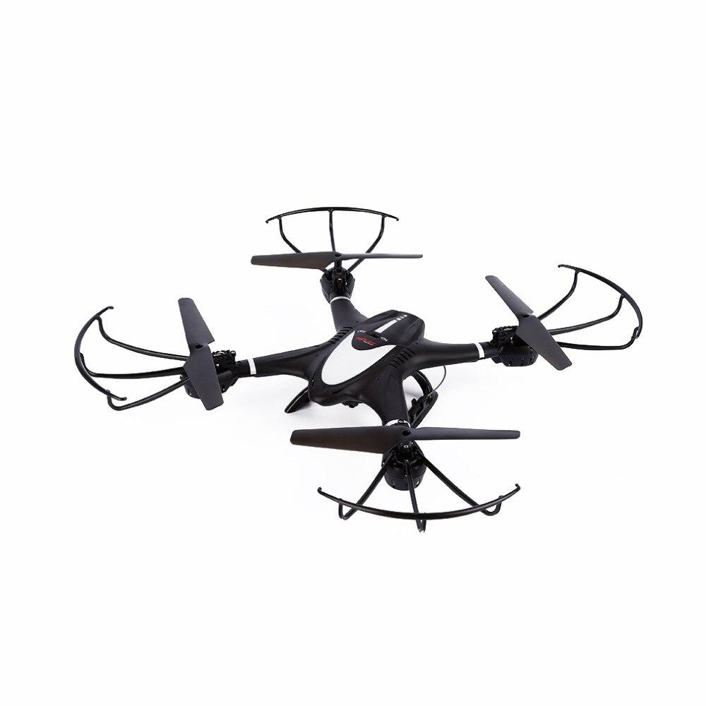 все цены на  2017 New Blak WIFI FPV 0.3MP HD Camera Drone RC Quadcopter Altitude Hold 3D Flip Helicopter RTF for MJX X401H  VS X101  онлайн