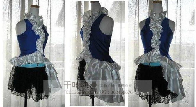 2016 Final Fantasy X YUNA Cosplay Costume Halloween Uniform Game Party Dress