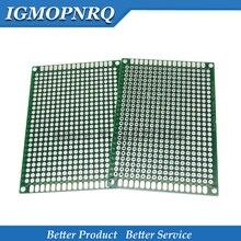 5 pces 5x7cm novo protótipo de papel cobre pcb experiência universal placa de circuito matriz 5*7cm