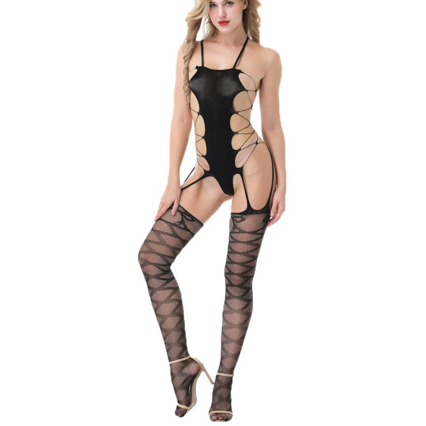 JAYCOSIN bodystocking Sexy Women Sexy Lingerie Costumes Underwear Women Sex Product Erotic Lingerie costumes school girl t32