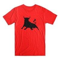 Tailored Shirts Gildan O Neck Comfort Soft Short Sleeve Mens Spanish Bull Toro De Osborne Shirt