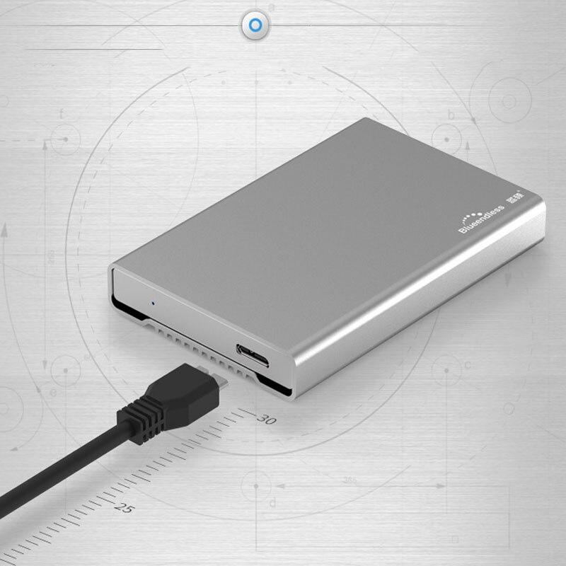 Портативный внешний жесткий диск 80 ГБ/120 ГБ/160 ГБ HDD Портативный жесткий диск для компьютера и ноутбука disco Дуро экстерно устройств хранения