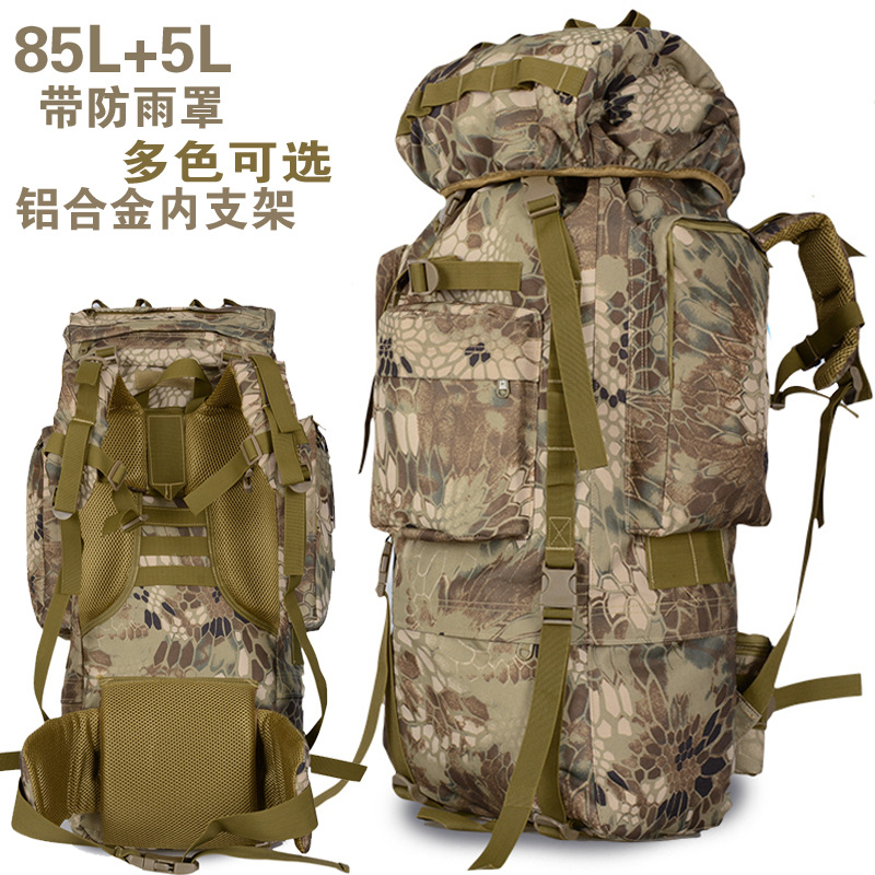 bolso 90L aire libre 80L al alta del mochila alpinismo capacidad de 4RCwnn6dq