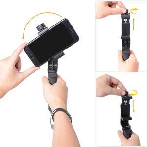 Image 4 - 携帯電話ハンドグリップホルダー携帯電話スタビライザー Selfie スティックジンバルブラケット iphone サムスン華為 Xiaomi Oneplus