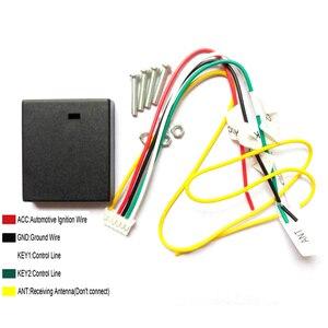 Image 5 - ユニバーサル多機能 5/10 ボタンリモコンキーステアリングホイールボタンワイヤレス耐久性のあるステレオ DVD GPS