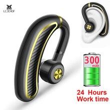 цена на Business Bluetooth Earphone Wireless Headphone With Mic 24 Hours Work Time Bluetooth Headset For Phone Iphone Xiaomi Samsung