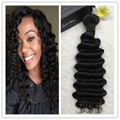 Full Shine Deep Wave Brazilian Hair Weft Extensions Brazilian Virgin Human Hair Weaving One Bundle Unproecssed Hair Weaving
