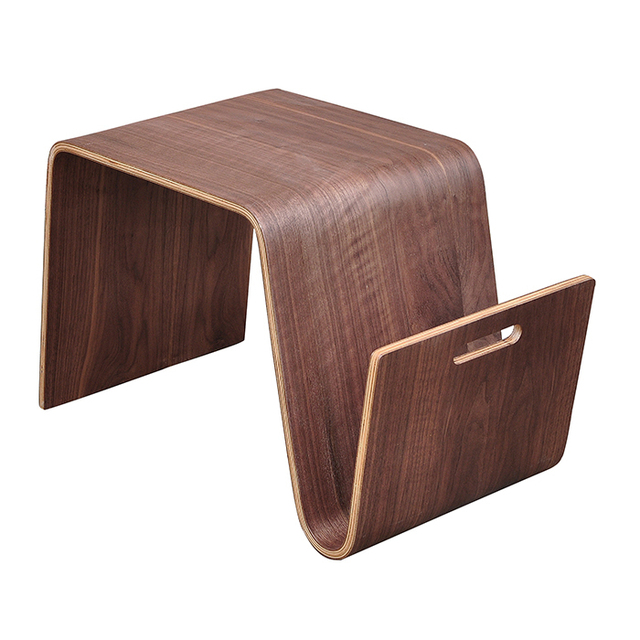 Olger Beth Creative Bent Wood Coffee Table European Side A Few Short  Stylish Corner Computer Desk