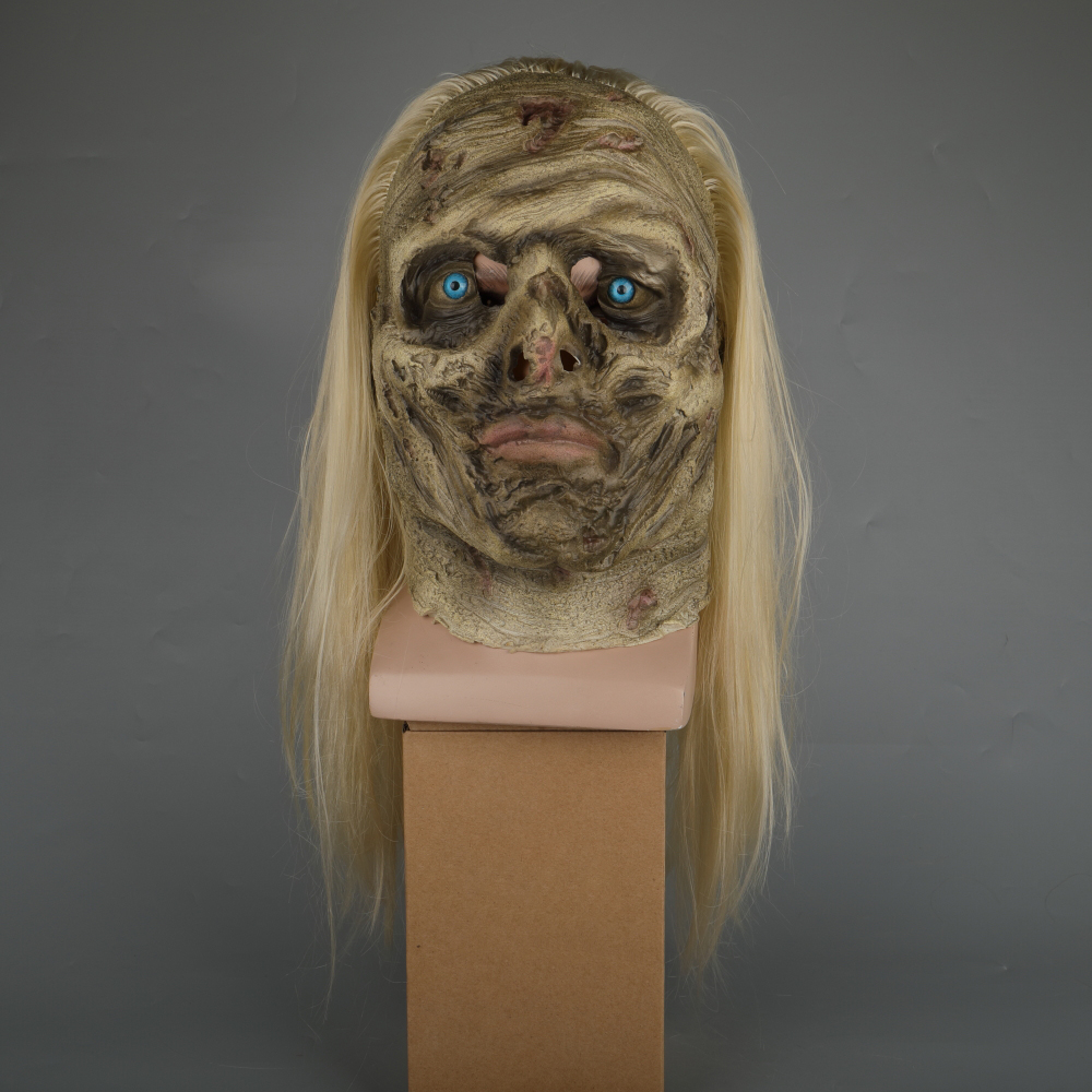Zombie Mask The Walking Dead Alpha Whisper Dead Walkers Halloween Mask Latex Props New Cosplay Scary Mask (2)
