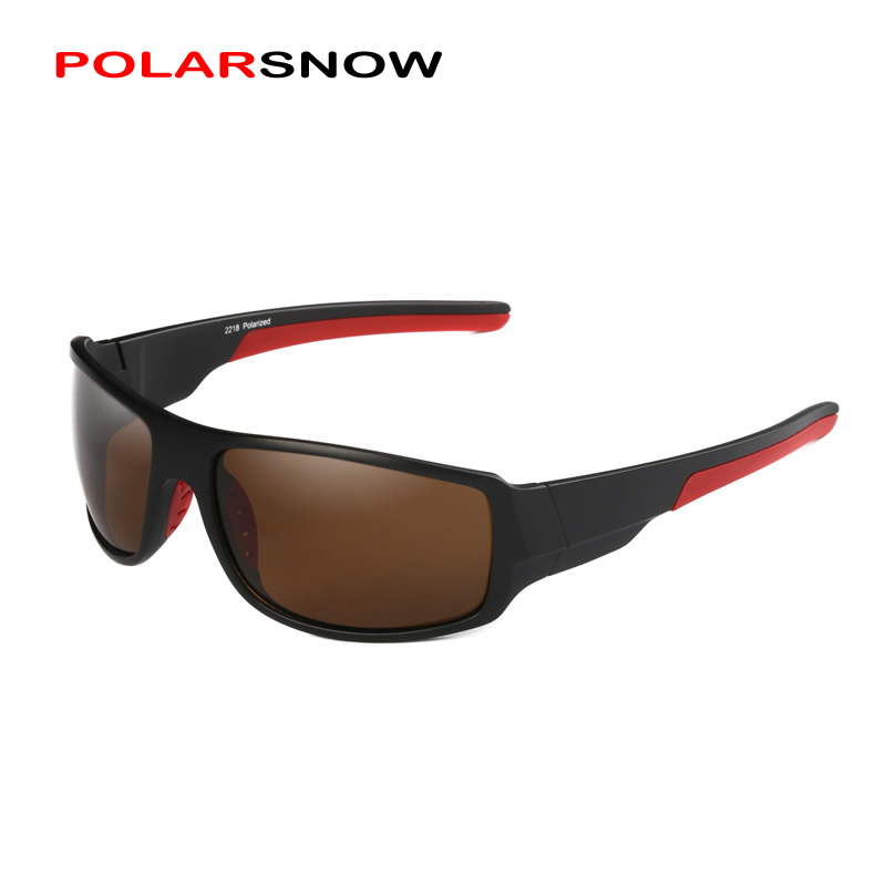 POLARSNOW 2018 Polarized Goggle Sunglasses Men Oculos Masculino Male Eyewear Accessories Sun Glasses UV400 Top Quality Gafas