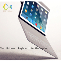 NEW Cover for ipad 9.7 2017 Case Wireless Bluetooth Keyboard Folding Cases Ultra Slim Smart Flip Stand for ipad case Coque