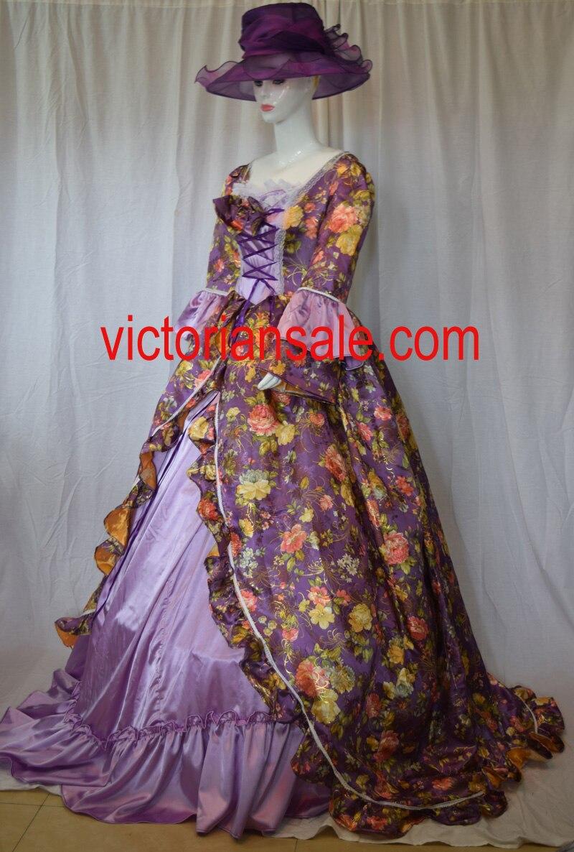 Ladies' Victorian Dresses/Victorian Bustle Dresses/Marie Antoinette gowns