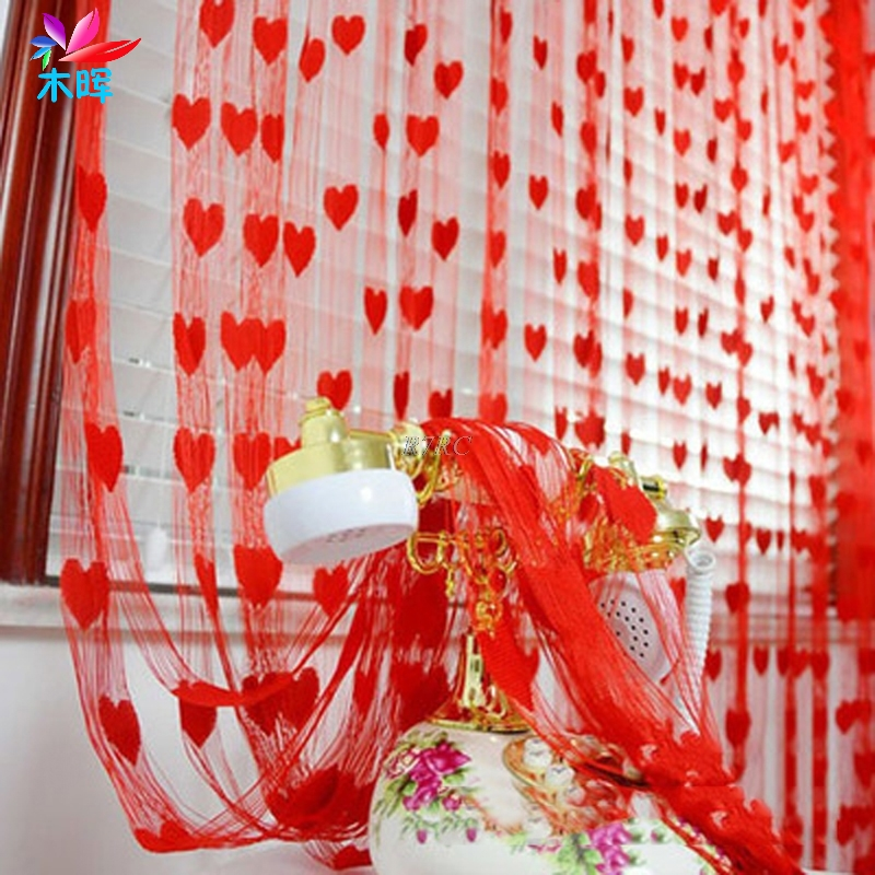 Silk String Curtain