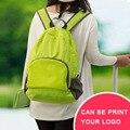 IUX reutilizable con asa plegable mochila de viaje mochila de nailon impermeable y plegable de viaje mujeres hombres bolsos de hombro