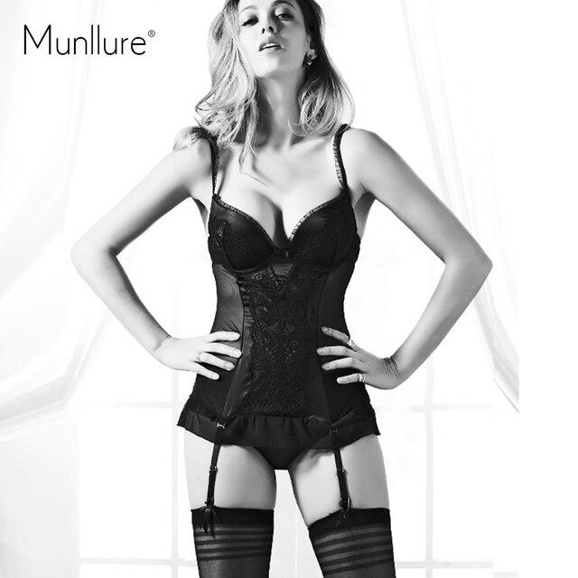 2016 Сексуальная основные глубокий V-образным Вырезом талии корсеты push up bra body shaper горячие формочек одежда цельный body shaping ночная рубашка