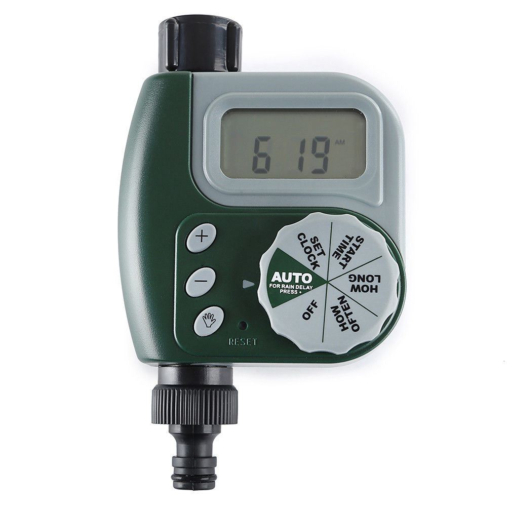 New Electronic Water Tap Timer DIY Garden Irrigation Control Unit Digital LCDNew Electronic Water Tap Timer DIY Garden Irrigation Control Unit Digital LCD