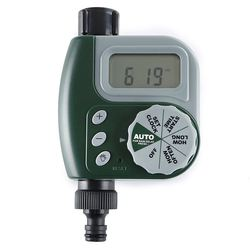 New Electronic Water Tap Timer DIY Garden Irrigation Control Unit Digital LCD