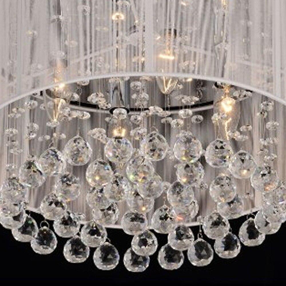 comprar royal luxury crystal luz de techo llevada cristal decoracin del arte del lustre lmparas de techo para comedor dormitorio