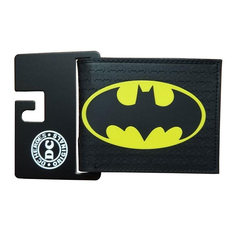carteiras couro spiderman superman batman Modelo Número : Comics DC Marvel Bioworld