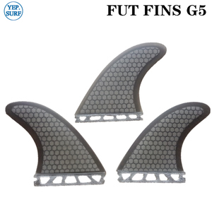 Image 2 - Future G5 Fin yellow Honeycomb Surfboard Fins Future Fibreglass Fins Surf Quilhas Paddle Board