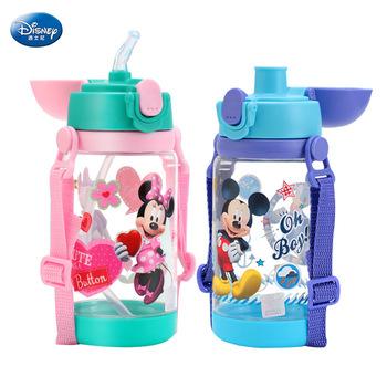 520 ml disney minnie Mickey Mouse karmienie puchar samochody butelka ze słomką butelka kubek tanie i dobre opinie Dzieci Drinkware Ce ue 520ml Cartoon