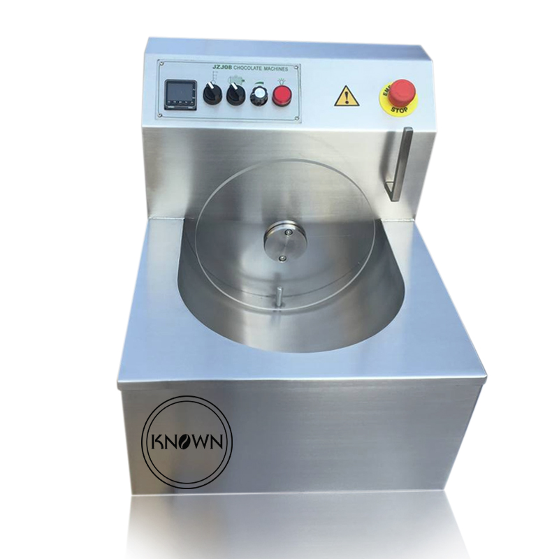 CE approved 8kg/time chocolate melting machine | small chocolate tempering machine 220v|chocolate melting machine|tempering machine|chocolate tempering machine - title=