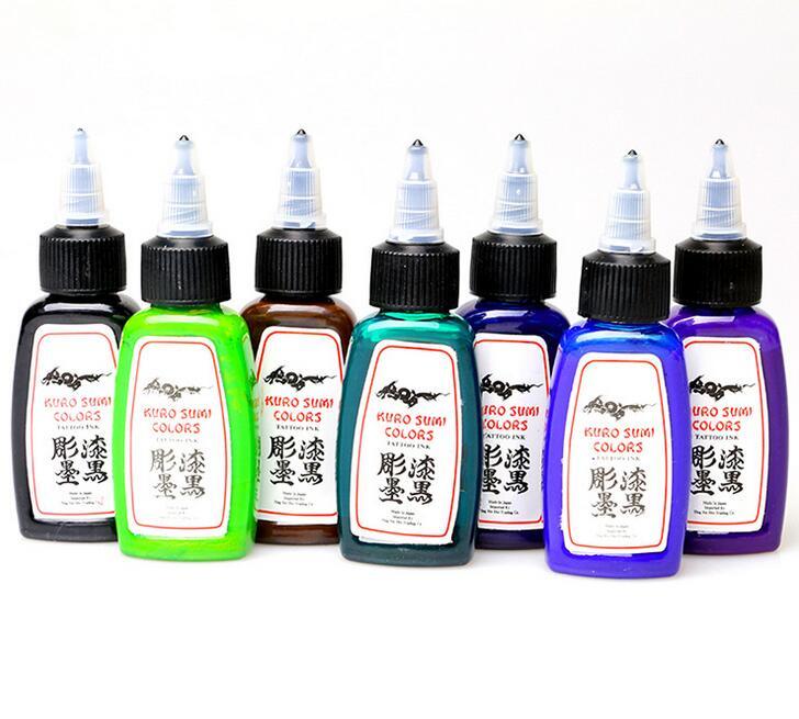 Tattoo Wholesale - New Solong Tattoo Ink 14 Colors Set  30ml/Bottle Tattoo Pigment Kit NANI