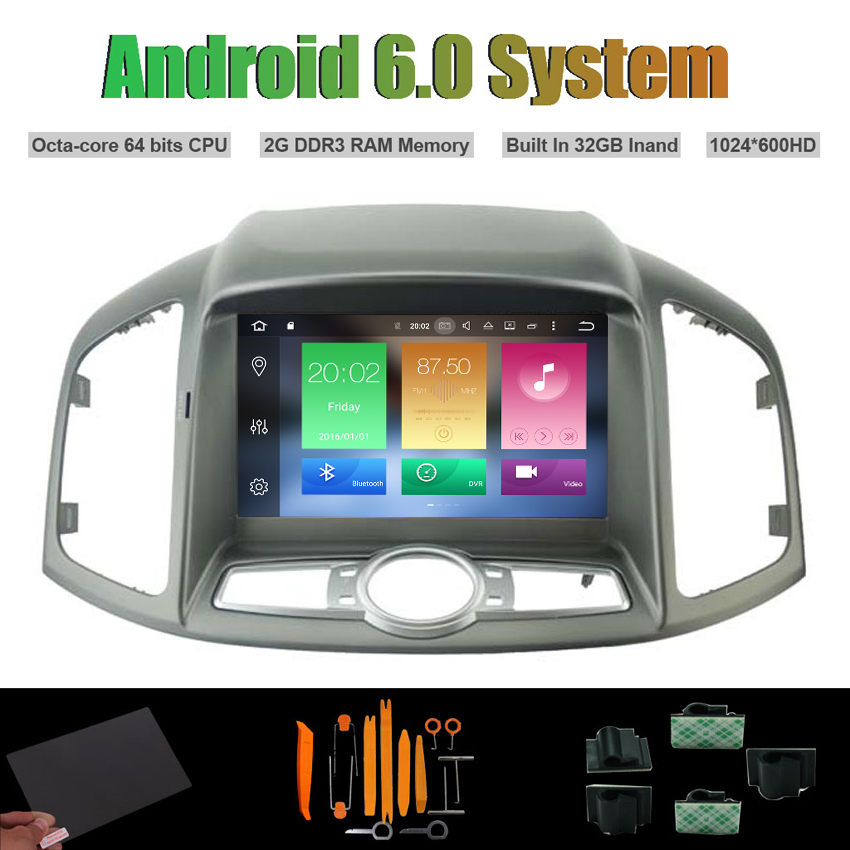 Android 6.0 Octa-core CAR DVD PLAYER for CHEVROLET CAPTIVA 2012-2013 AUTO Radio RDS STER ...
