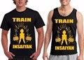 2016 Summer Style DBZ Train Insaiyan T shirt Men Super Saiyan Gym Dragon Ball Z Tees Shirts Sport Hipster Adult Tank Tops