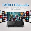 Android Caixa Smart TV 5.1 TX3 com Livre Árabe IPTV Europa Apoio Canais franceses Céu Esporte Canal Plus Francês Iptv Set Top caixa