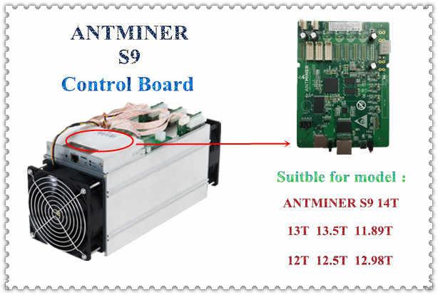 Antminer S9 Placa de control bitcoin miner a antminer S9 reparación de piezas para ANTMINER S9 S9i S9j 14,5 T 14 T 13,5 T 13 T 12 T
