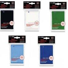 Manchons de cartes Ultra.Pro pour yugioh, 120 pièces, 62x89mm, DOUBLE face, mat, protège-cartes de jeu, bouclier