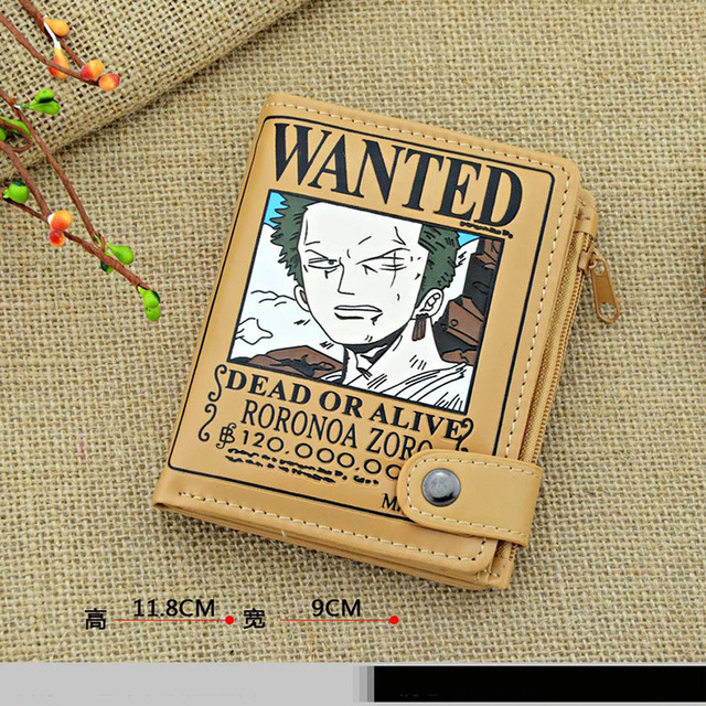 One Piece Road Fly Warrant Wallet