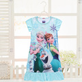 Sleeping Dress Pyjama Kids Princess Girl Nightgowns Beautiful Nightdress Costume Toddler Nightwear Girls Dress Child Sleepwear