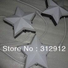 DC24V WS2811 звезда типа пиксельный модульный для девочек 12 предметов в наборе, 5050 SMD rgb led внутри, 2,88 W, IP68, одной стороны; 200 мм диаметр; молочное покрытие