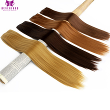 Neverland Straight 24″ 60cm 5Clip Synthetic Hairpiece False Hair #27 #4 #30 Heat Resistant Clip-in One Piece Hair Extensions
