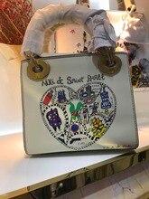 WW0859 100% из натуральной кожи роскошные Сумки Для женщин сумки дизайнер Crossbody сумки для Для женщин известный бренд взлетно-посадочной полосы