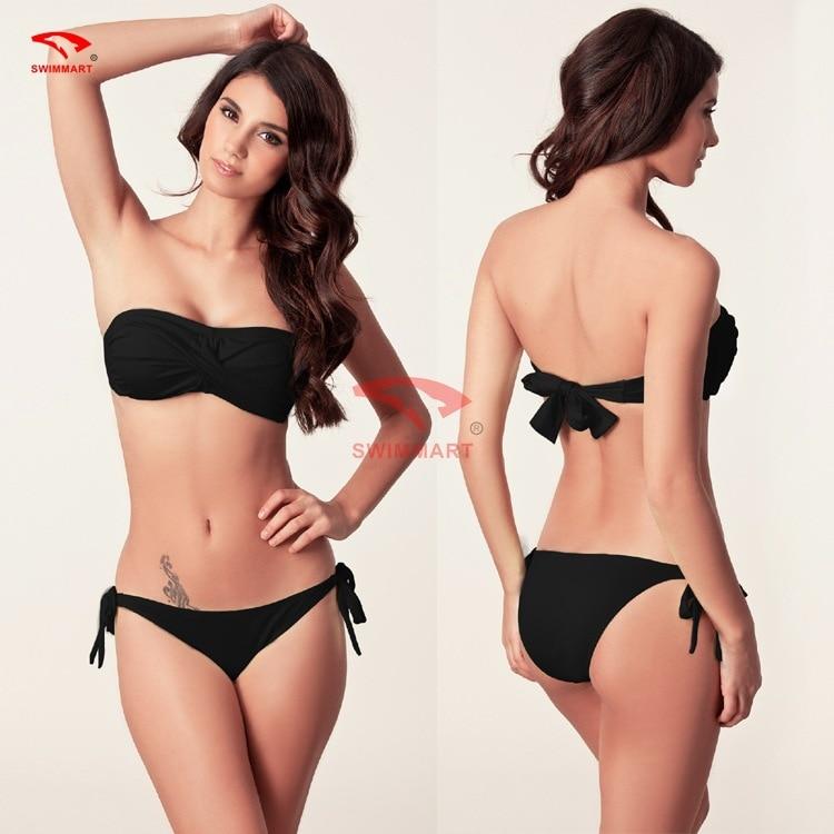 SWIMMART Nové Push Up Bikini Plavky Plavky Dámské Sexy Bikinis - Sportovní oblečení a doplňky