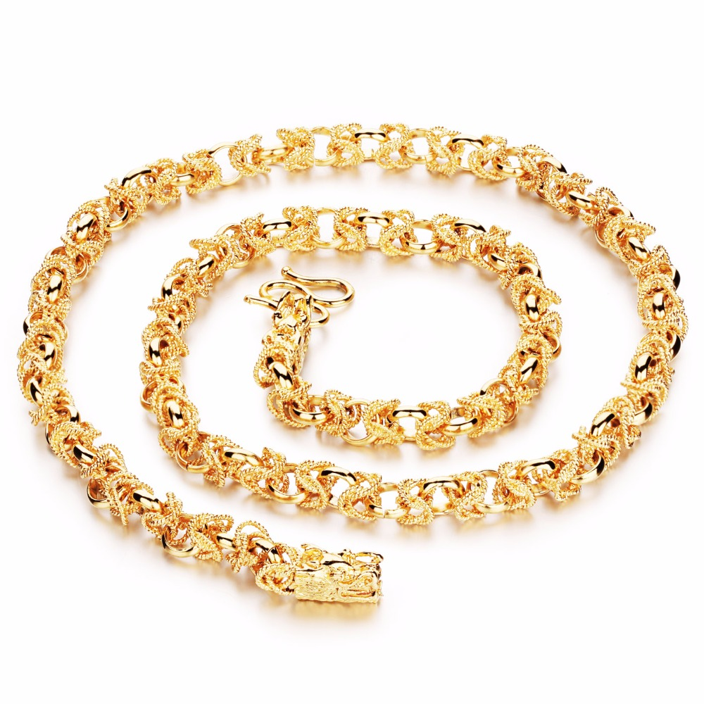 44db9cceee DIY Length Adjustable Gold Color Hip hop Cool Chinese Dragon Chain Necklace  for Men Jewelry Wholesale-in Chain Necklaces from Jewelry & Accessories on  ...
