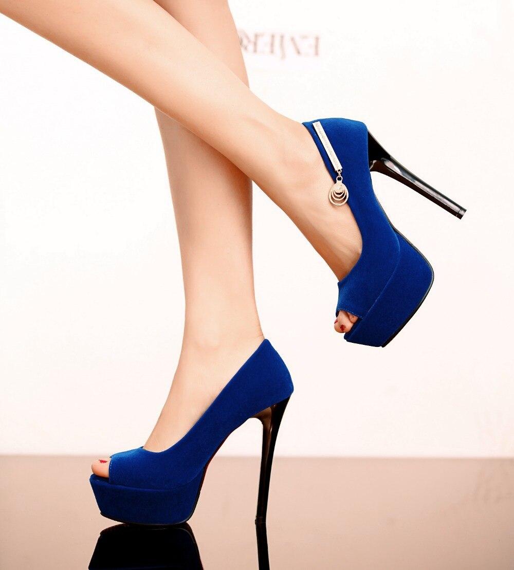 Mince bleu Rouge Mode Peep Troupeau rouge Toe Pompes Cuir Bleu Slip Femme Femmes Noir Partie on En Chaussures Talons 2018 De Noir BR5zqZxww