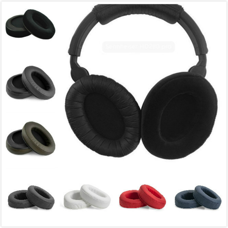Replacement Ear Pad Ear Cushion Ear Cups Ear Cover Earpads Repair Parts for Sennhei HD280 HD281 Pro HMD280 HMD281 Headphones replacement sponge ear pad cushion for monster beats pro detox headphone headset