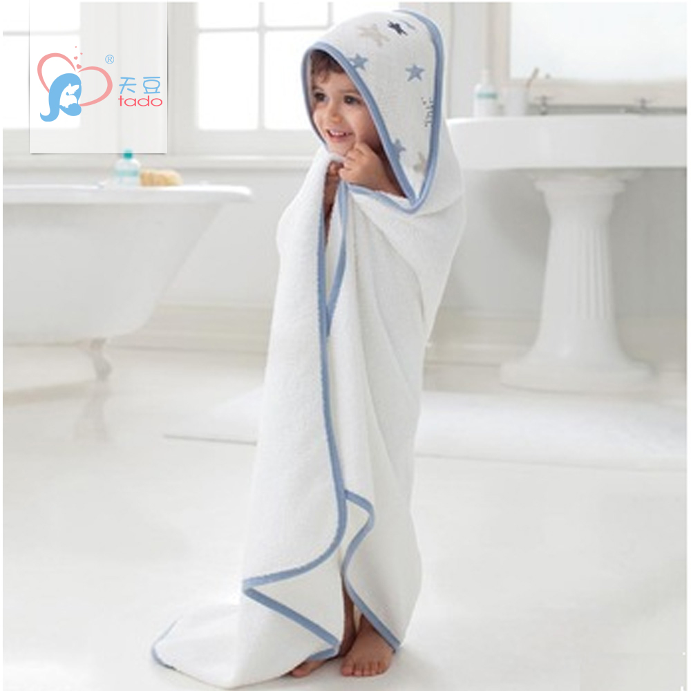 Kids Bath Towels Us 17 29 Aden Anais Baby Hooded Bath Towel Soft Material 100 Bamboo Cotton Kids Bath Towels Children Hand Towel Newborn Beach Towel In Towels From