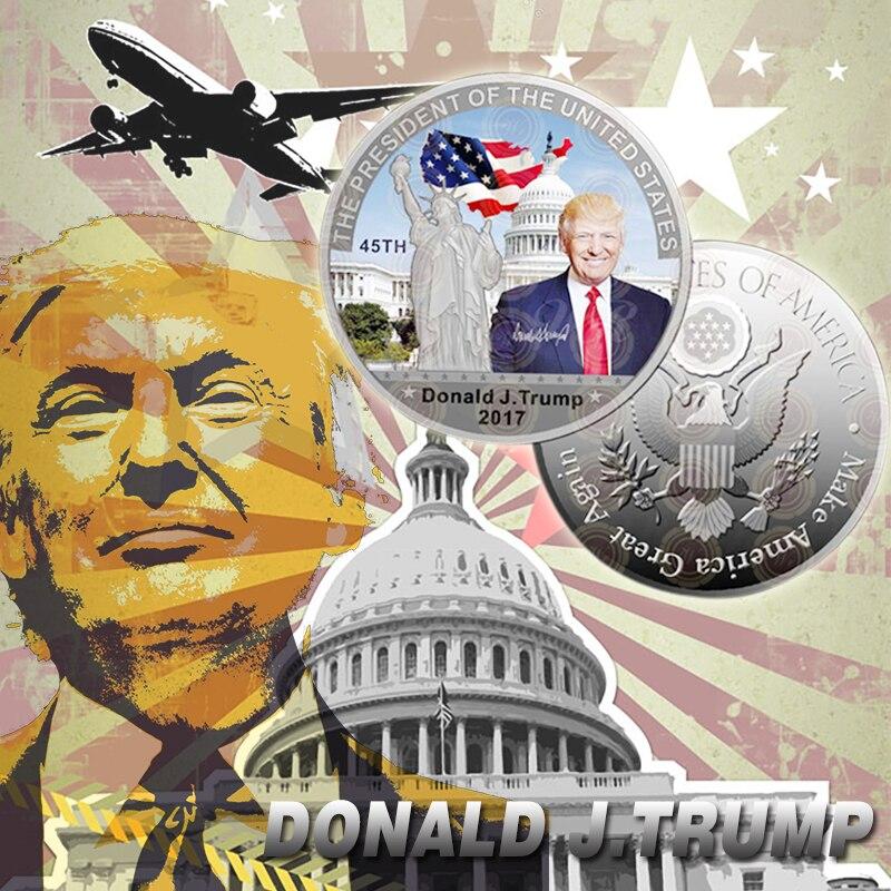 WR versilberte farbige Gedenkmünzen Der Präsident der Vereinigten Staaten, Barack Hussein Obama Jr., Gedenkmünze 2016 Neu